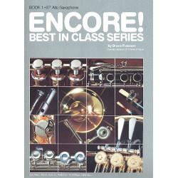 Pearson, Bruce: Encore Band 1 : für Altsaxophon