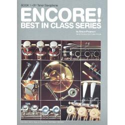 Pearson, Bruce: ENCORE : B-TENOR-SAXOPHON ERGAENZUNG ZU BEST IN CLASS ANDERSON, GERALD, KOAUTOR