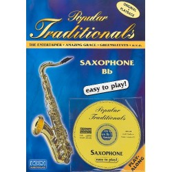 Popular Traditionals (+CD) : for saxophones in Bb/Eb