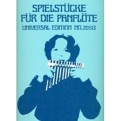 Jung, Heinz: Spielstücke : für die Panflöte