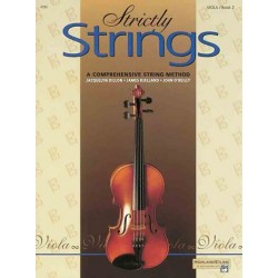 O'Reilly, John: STRICTLY STRINGS VOL.2 VIOLA A COMPREHENSIVE STRING METHOD