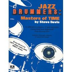 Davis, Steve: Jazz Drummers (+CD): Masters of Time