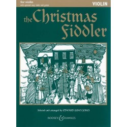The Christmas fiddler for violin (easy violin and guitar ad lib)