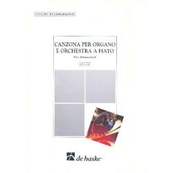 Schoonenbeek, Kees: Canzona : per organo e orchestra a fiato