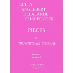 Pieces vol.2 : for trumpets and timpani score and parts
