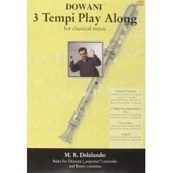 Lalande, Michel Richard de: Suite (+CD) : für Sopranblockflöte und Klavier