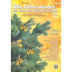 Alle Jahre wieder (+CD) : für 2 Gitarren