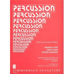 Danican Philidor, Andr├® (L'ain├®): Marsch f├╝r 2 Paar Kesselpauken : f├╝r Barockpauken und Janitscharen- instrumente (5