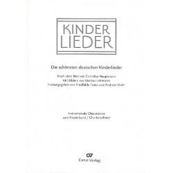 Kinderlieder : für 1-2 Singstimmen und Klavier, z.T. mit Melodiestimme 2 (ad lib) Oberstimme zum Klavierband