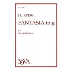 Krebs, Johann Ludwig: Fantasia g minor : for oboe and organ
