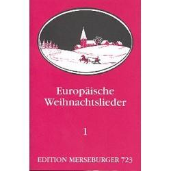 Europäische Weihnachtslieder Band 1 für 3stg. Frauen- oder Jugendchor, Partitur (dt)