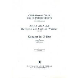 Anna Amalie, Prinzessin von Preussen: Konzert G-Dur : für Cembalo und Orchester Cembalo