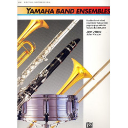 O'Reilly, John: Yamaha Band Ensembles vol.1 : for alto (baritone) saxophon in e flat