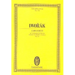 Dvorák, Antonín: Konzert a-Moll op.53 : für Violine und Orchester Studienpartitur