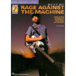 Stetina, Troy: Best of Rage against the Machine (+Cd) : a step-by-step breakdown of tom morello's guitar styles and techniques