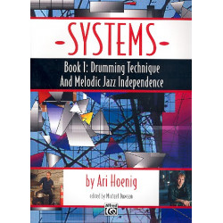 Hoenig, Ari: Systems Vol.1 : for drums
