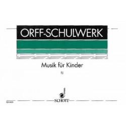 Orff, Carl: Musik f├╝r Kinder Band 3 : Dur, Dominanten Keetman, Gunild, ed