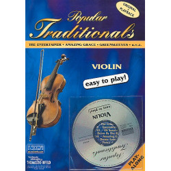 Popular traditionals (+ CD) : for violin