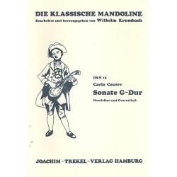 Cecere, Carlo: Sonate G-Fur : für Mandoline und Bc