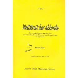 Meier, Stefan: Wettstreit der Akkorde : Musikalisches Märchen für 5 skordierte Mandolinen, 2 Mandolinen und Sprecher