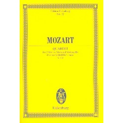 Mozart, Wolfgang Amadeus: Streichquartett d-Moll KV421 Studienpartitur