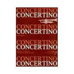 Blank, Hans: Concertino für Trompete solo und großes Blasorchester