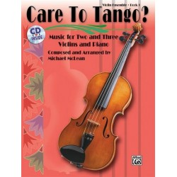 McLean, Michael: Care to Tango Vol.1 (+CD) : for 2 violins and piano score and parts