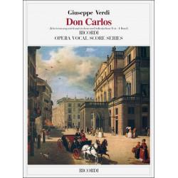 Verdi, Giuseppe: DON CARLOS : KLAVIERAUSZUG (FR/IT) 2 BAENDE