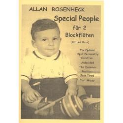 Rosenheck, Allan: Special People : f├╝r 2 Blockfl├Âten (AB)