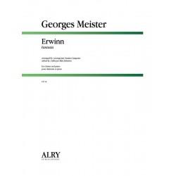 Canzoni alla francese für 4 Instrumente als Zincken und Pussaunen 4 Spielpartituren