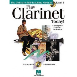 Play clarinet today level 1 (+CD) : the ultimate self-teaching method a complete guide to the basics