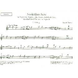 Barthel, Rudolf: Neuköllner Suite : für Sopranino, Sopran-, Alt-, Tenor- und Baßblockflöte Stimmen
