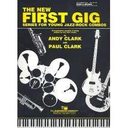 Clark, Paul (Jazz): The new first Gig : for bass and drums