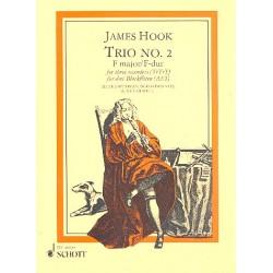 Hook, James: Trio in F Nr.2 : für 3 Blockflöten (AAT) Stimmen
