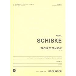 Schiske, Karl: TROMPETERMUSIK OP.13 : FUER 2 TUBEN, 10 TROMPETEN, 8 POSAUNEN, PAUKEN UND SCHLAGZEUG PARTITUR