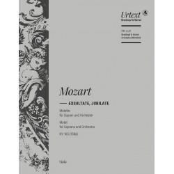 Mozart, Wolfgang Amadeus: Exsultate jubilate KV165 : für Sopran und Orchester Viola