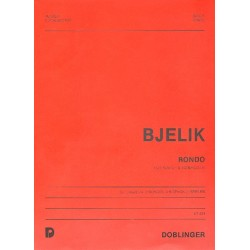 Bjelik, Martin: RONDO : FUER KLAVIER, 2 BONGO UND XYLOPHON (2 SPIELER) PARTITUR UND STIMMEN