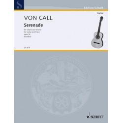 Call, Leonhard von: Serenade op.76 : für Gitarre und Klavier