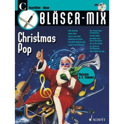 Bläser-Mix (+CD) : Christmas Pop für C-Instrumente (Melodie und 2. Stimme)