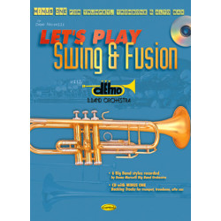 Morselli, Demo: LET'S PLAY SWING AND FUSION (+CD) : MINUS ONE FOR TRUMPET, TROMBONE AND ALTO SAX