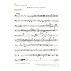 Weber, Carl Maria von: Andante und rondo ungarese : für Viola und Orchester Kontrabaß