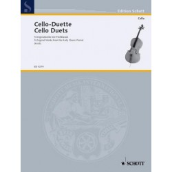 Cello-Duette Band 1 : Originalwerke der Frühklassik