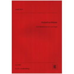 Zilch, Josef: Hubertus-Messe : für 4 Hörner in F und Orgel Stimmen