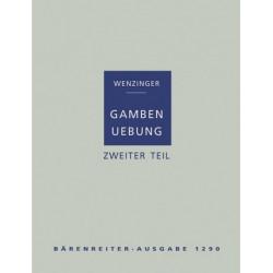 Wenzinger, August: GAMBENUEBUNG BAND 2 : TECHNISCHE WEITERBILDUNG