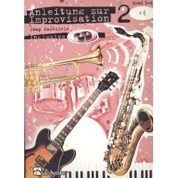 Kastelein, Jaap: Anleitung zur Improvisation Band 2 (+CD) : f├╝r Es-Instrumente (Grad 3-4)