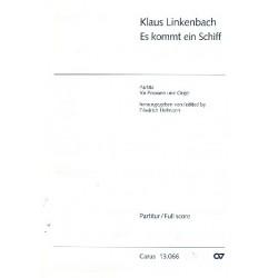 Linkenbach, Klaus: Es kommt ein Schiff : Partita für Posaune und Orgel