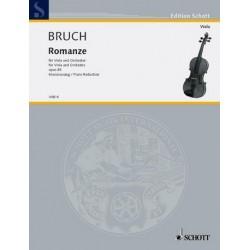 Bruch, Max: Romanze op.85 : für Viola und Orchester, Klavierauszug