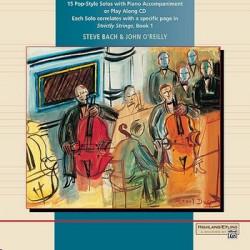 POP-STYLE SOLOS : CD STRICTLY STRINGS BACH, STEVE, ED