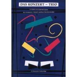 Das Konzert-Trio : für Chromonica, Akkord- und Baßmundharmonika, Spielpartitur