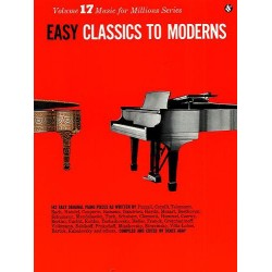 Easy Classics to Moderns : 142 easy original pieces for piano